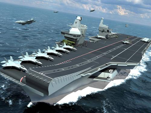 Queen Elizabeth class carrier